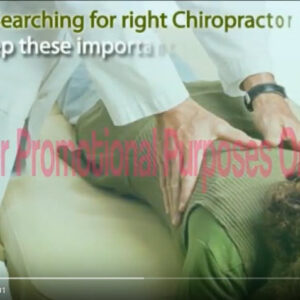 chiropractic business video 1 image